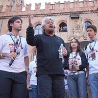 Aldo pecora, Rosanna Scopelliti e Beppe Grillo a Bologna (2008)