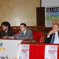 Aldo Pecora e Piercamillo Davigo a Pavia