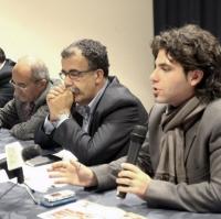 Aldo Pecora, Sandro Ruotolo e Vincenzo Macrì