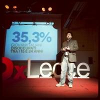 Aldo Pecora speaker a  TEDx Lecce