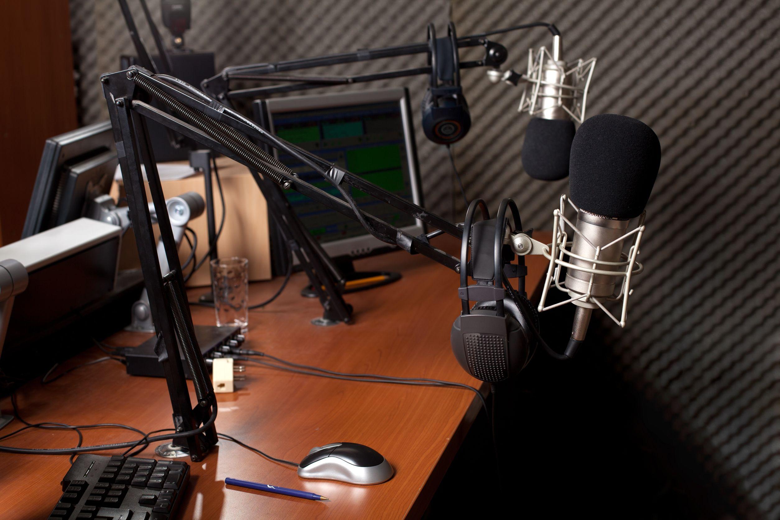 8584870 – preparing the news broadcast
