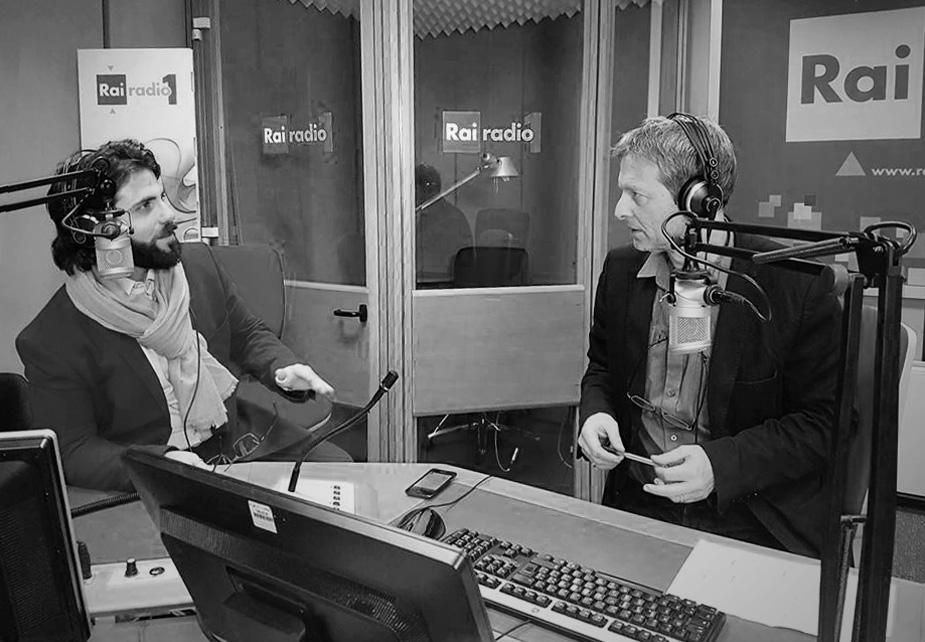 Aldo Pecora speaker a Rai Radio1
