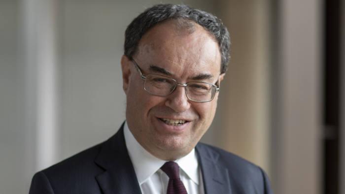 Il governatore della Bank of England, Andrew Bailey
