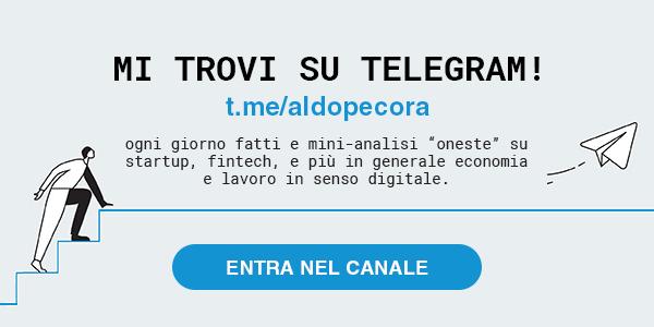 MI TROVI SU TELEGRAM! t.me/aldopecora
