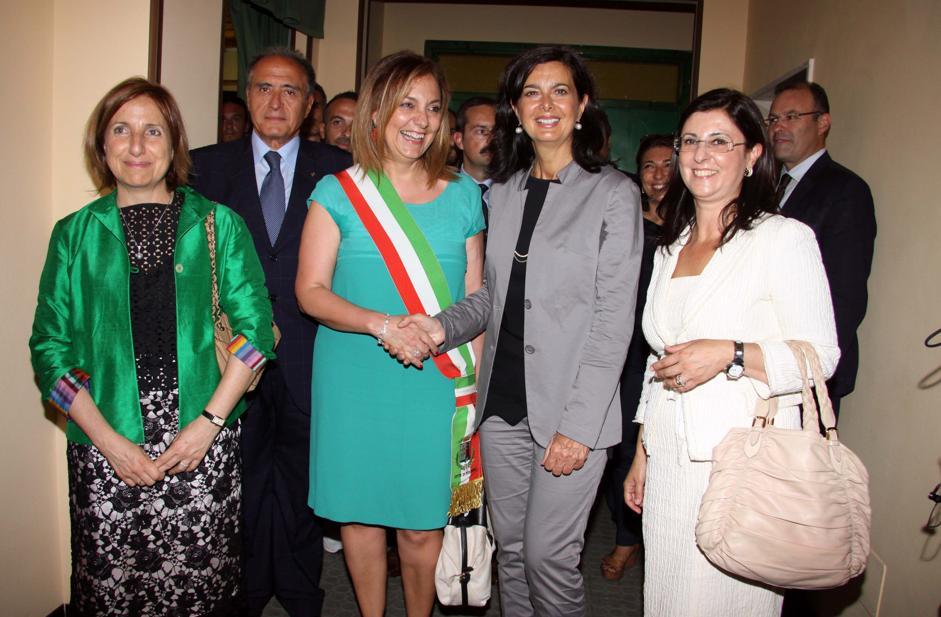 Il Presidente della Camera on. Laura Boldrini a Rosarno
