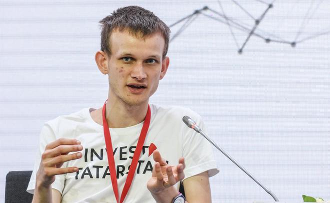 Il founder di Ethereum, Vitalik Buterin